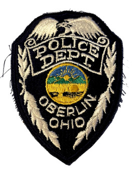KETTERING  OH POLICE BADGE PATCH FREE SHIPPING!