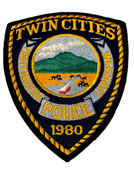 TWIN CITIES  OH POLICE BADGE PATCH FREE SHIPPING!