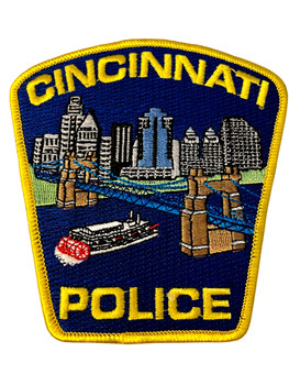 CINCINNATI  OH POLICE BADGE PATCH FREE SHIPPING!