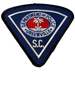GREENVILLE POLICE SC PATCH