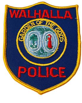 WALHALLA  POLICE SC PATCH