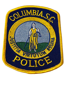 COLUMBIA  POLICE SC PATCH