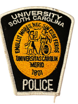 UNIV. OF SOUTH CAROLINA  POLICE SC PATCH