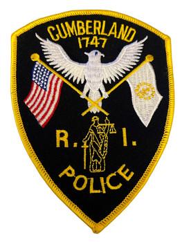 CUMBERLAND  POLICE RI PATCH