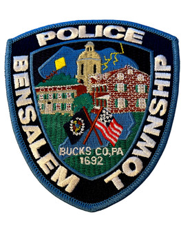 BENSALEM  POLICE PA PATCH