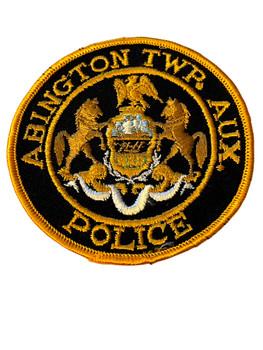ABINGTON  POLICE PA PATCH