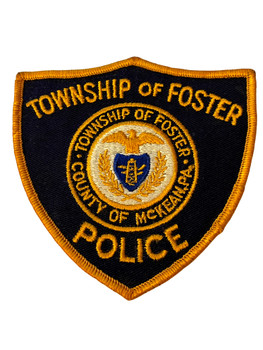 FOSTER POLICE PA PATCH