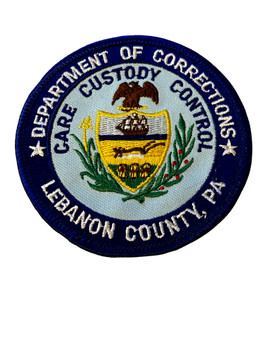 LEBANON COUNTY  DEPT. OF CORRECTIONS PA PATCH