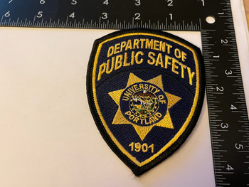 UNIV OF PORTLAND POLICE OR PATCH