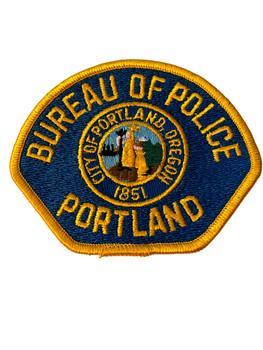 PORTLAND BUREAU OF POLICE OR PATCH