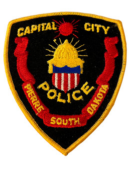 PIERRE POLICE SD PATCH