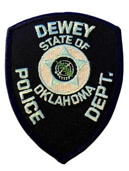 DEWEY POLICE OK PATCH