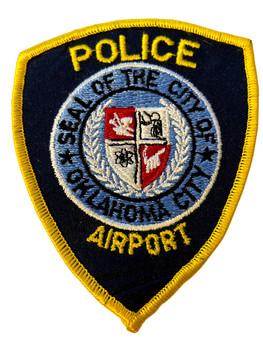 OKLAHOMA CITY AIRPORT POLICE OK PATCH