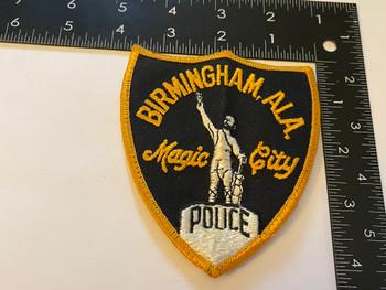 BIRMINGHAM POLICE AL PATCH