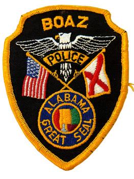 BOAZ POLICE AL PATCH
