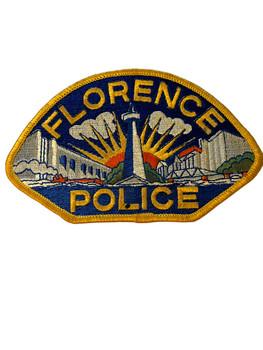 FLORENCE POLICE AL PATCH