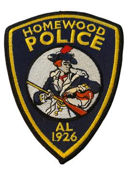 HOMEWOOD POLICE AL PATCH
