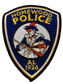 HOMEWOOD POLICE AL PATCH #2