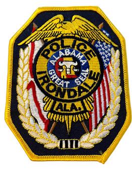 IRONDALE POLICE AL PATCH