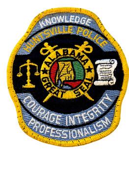 HUNTSVILLE  POLICE AL PATCH