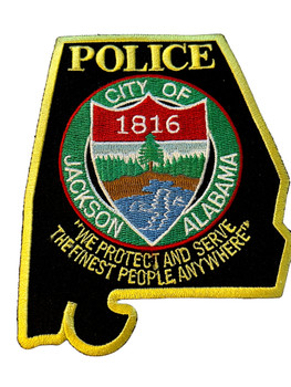 JACKSON POLICE AL PATCH