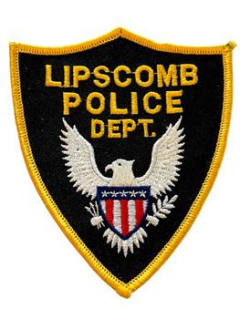LIPSCOMB  POLICE AL PATCH