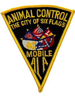 MOBILE  POLICE AL ANIMAL CONTROL PATCH