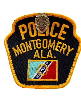 MONTGOMERY  POLICE AL PATCH & PIN