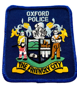 OXFORD  POLICE AL PATCH