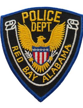 RED BAY POLICE AL PATCH