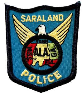 SARALAND POLICE AL PATCH