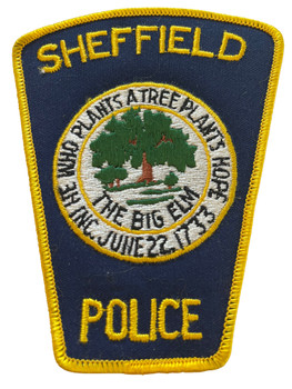 SHAFFIELD POLICE AL PATCH