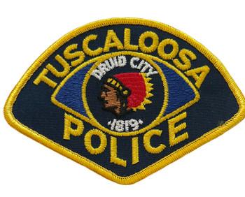 TUSCALOOSA  POLICE AL PATCH