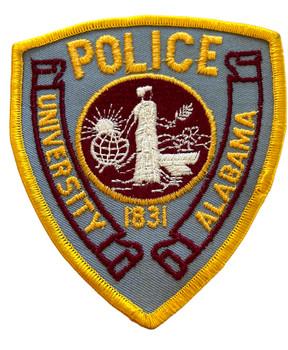 UNIV. OF ALABAMA POLICE AL PATCH