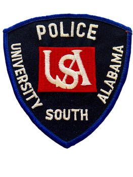 UNIV. OF SOUTH ALABAMA POLICE AL PATCH