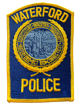 WATERFORD POLICE CT PATCH