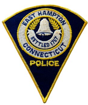 EAST HAMPTON POLICE CT PATCH