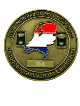 NETHERLANDS ARMY MILITARY COIN COIN