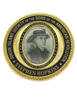 SONS OF AMERICAN REVOLUTION COIN