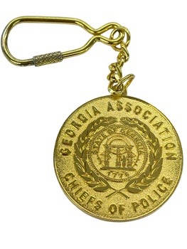 GACP KEY TAG CHAIN GEORGIA POLICE CHIEFS
