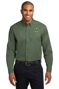 NASSAU Port Authority® Long Sleeve Easy Care Shirt