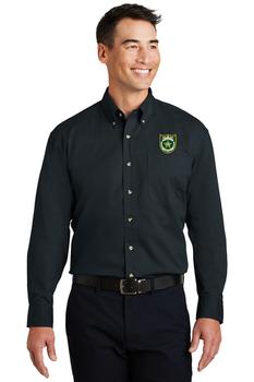 NASSAU Port Authority® Long Sleeve Twill Shirt