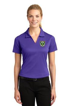 NASSAU Sport-Tek® Ladies Dri-Mesh® V-Neck Polo