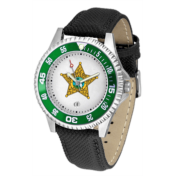 NASSAU COMPETITOR MENS LEATHER WATCH