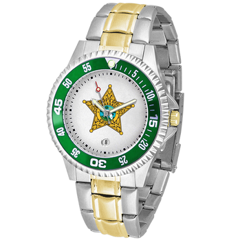 NASSAU COMPETITOR MENS TWO-TONE WATCH