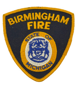 BIRMINGHAM FIRE DEPARTMENT MI PATCH