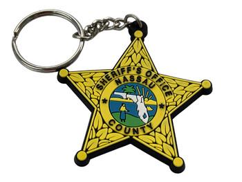 NASSAU COUNTY FL STAR KEY TAG