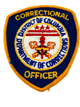 DISTRICT OF COLUMBIA CORRECTIONAL PATCH