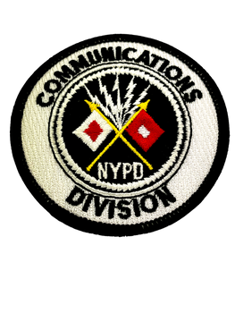 NYPD COMMUNICATIONS DIVISION POLICE NY PATCH