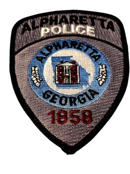 ALPHARETTA  POLICE GA PATCH
